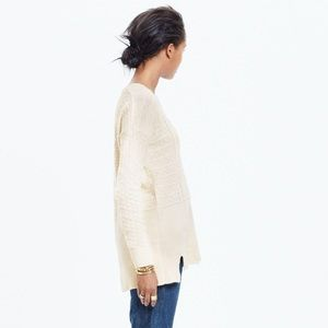 madewell | texture play pullover sweater